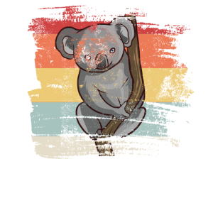 Retro Koala Bär