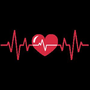 Herzschlag EKG Herz Puls Pulsschlag