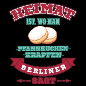 Heimat Berliner Westdeutschland Spruch Wurzeln