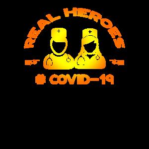 Echte Helden # covid-19