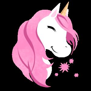 Pink Einhorn Niedlich