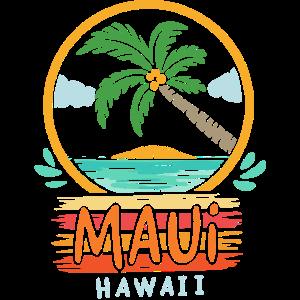 Maui Hawaii Retro