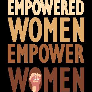 Empowered Women Geschenk