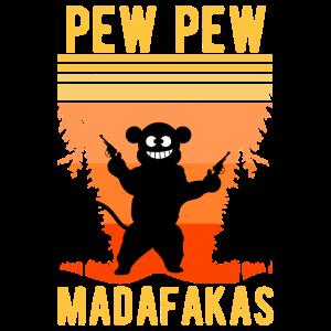 Pew Pew Madafakas Monkey