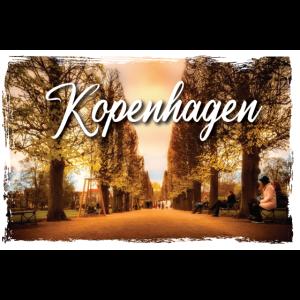 Kopenhagen Dänemark Bild Poster Geschenk T-Shirt