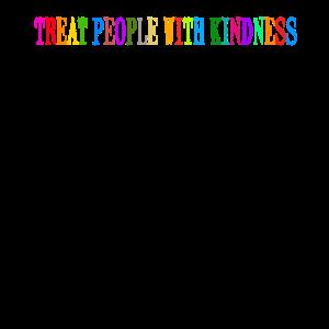 Bunter Spruch Freundlich Behandeln Geschenkidee