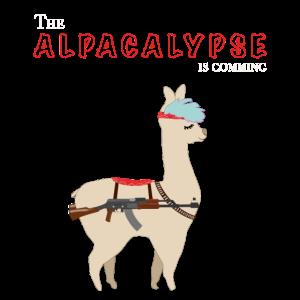 The ALPACALYPSE is comming