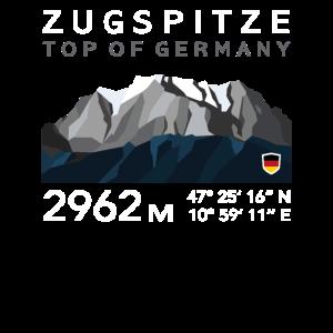 Zugspitze Garmisch Partenkirchen Bayern Low Poly