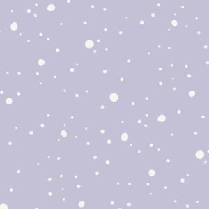 Mundschutz Schnee lila