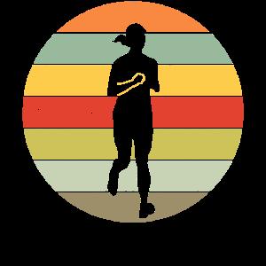 Jogging Laufen Läufer Retro Geschenk Männer Frauen