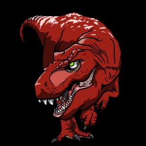 cooler Tyrannosaurus Rex Geschenk für T-Rex Fans