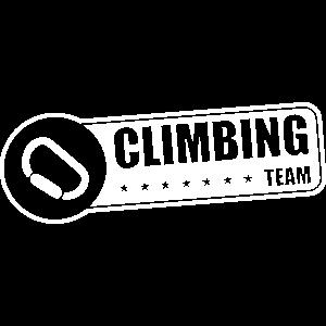 klettern bergsteigen climbing team