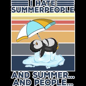 antisocial Sommer hasser ich hasse menschen