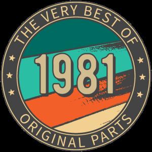 Birthday 1981 THE VERY BEST OF Original Parts