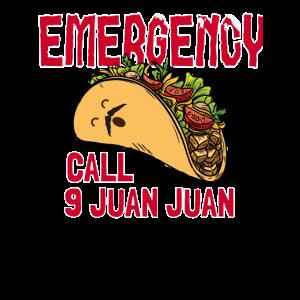 Taco Notruf 9 Juan Juan Lustiger Taco Pun