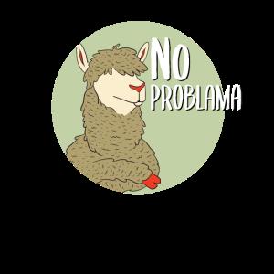 Lama no Problama Alpaka Alpaca lustig