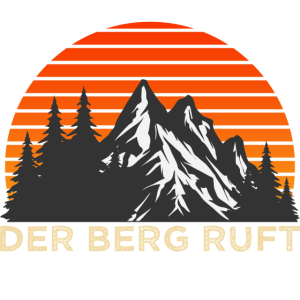 Der Berg Ruft Berge Wandern Fan Geschenk T-Shirt
