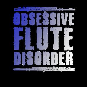 Flöte Flötist Spruch für Flötenspieler
