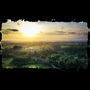 Landschaft Asien Natur Sonnenaufgang