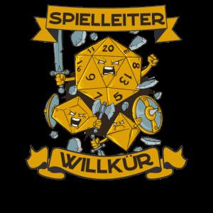 Spielleiter Willkür Pen and Paper Rollenspiel RPG