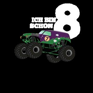 cooler Monstertruck - Ich bin schon 8
