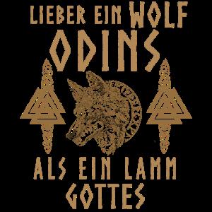 Lieber ein Wolf Odins als ein Lamm Gottes