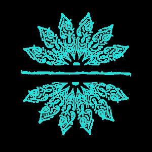 Lotus Blume Unalome Yoga Meditation