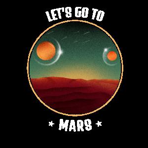 Mars Weltall Weltraum Space