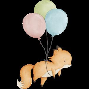 Baby Fuchs Luftballon