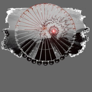 PS 003 Ferris Wheel (grey/red)
