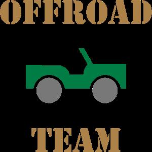 ★ Designfarben änderbar ★ Offroad team (Auto)