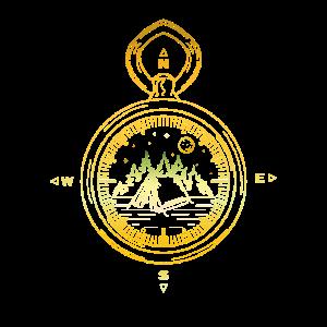 Kompass Berge