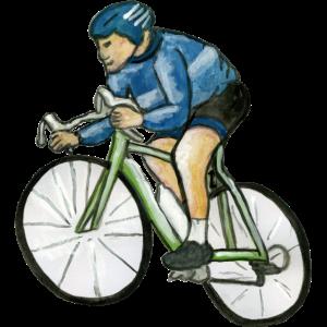 Radfahrer - Radfahrer - Biker - Radfahrer - Ciclista