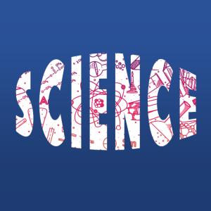 Science - Wissenschaft - Buchstaben Text Wort