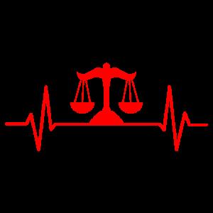Jurist Anwalt Pulsschlag Jura Geschenk