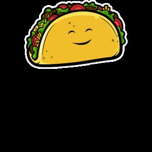 Cartoon Taco Illustration