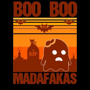 Halloween Pew Pew Madafakas Boo Boo Vintage Lustig