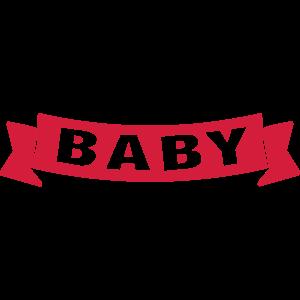 Baby Banner Schrift