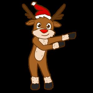 Floss Reindeer
