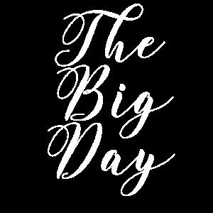 Hochzeit Word Art Der große Tag