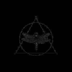 Zeichnung Libelle geometrische Form