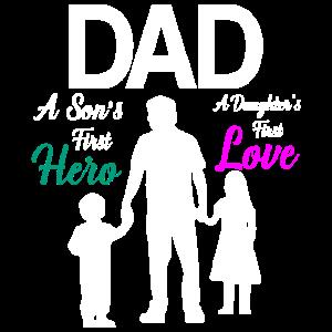 Papa von zwei Kindern