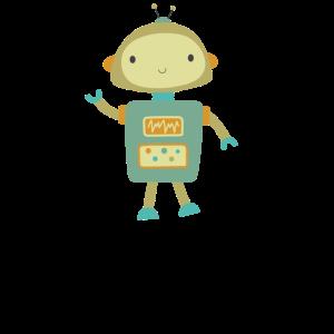 Roboter Clipart Retro Roboter