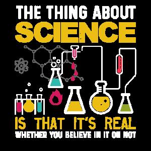 Die Sache mit der Wissenschaft ist, dass es real ist