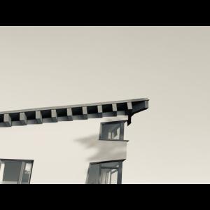 Haus Schwarz Weiß