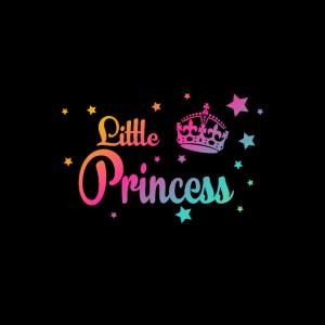 Little Princess Mask - Mundschutz mit Krone, Bunt