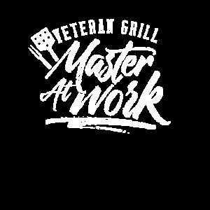 Veteran und Grill Meister an der Arbeit Vet Grill