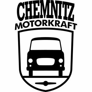 Barkas B1000 Motorkraft Chemnitz coat of arms