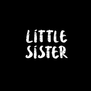 little sister kleine Schwester Herz Geburtgeschenk