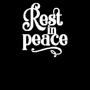 In Erinnerung an die Ruhe in Stück